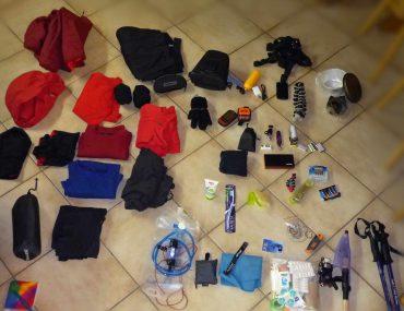 Trekkingausruestung-uebersicht