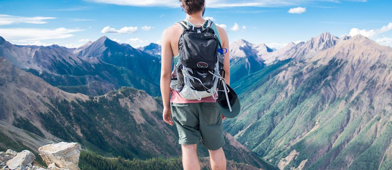 Rucksack-wandern-berge