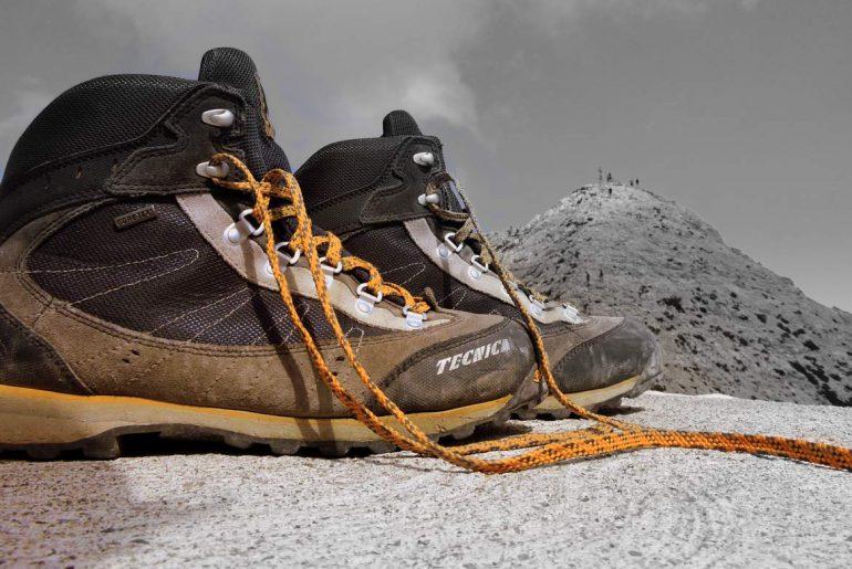 Wanderschuhe-Berge-trekking