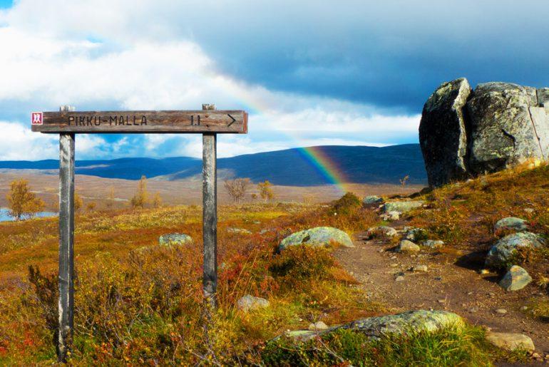Nordkalottleden-Trekking-Pikku-malla-lappland-wandern