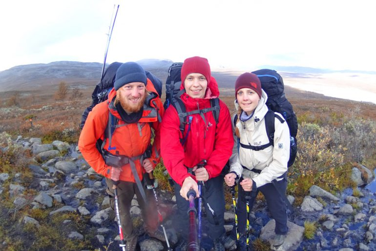 Nordkalottleden-wandern-trekking