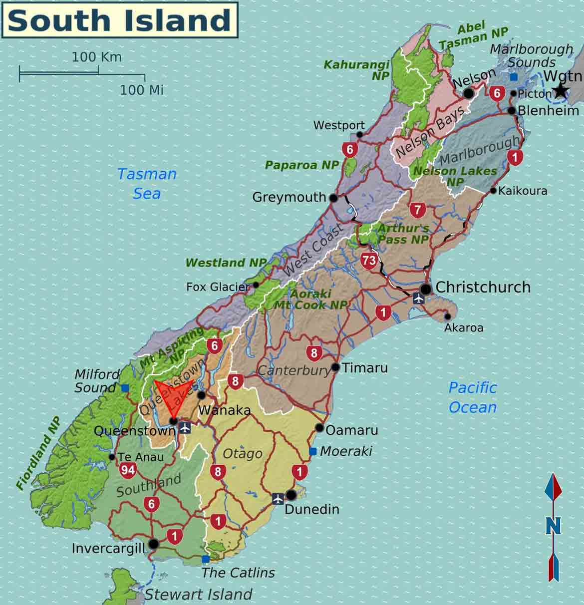 Ski Resorts New Zealand South Island