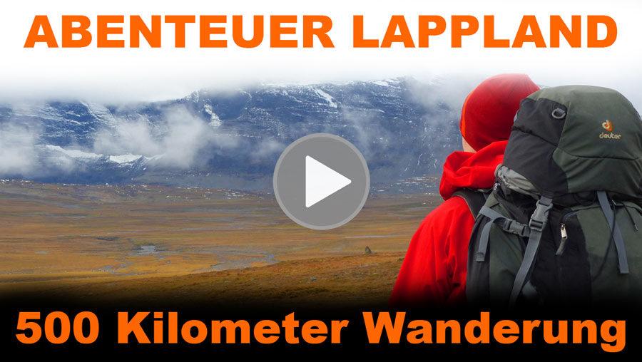 "Teil 1 unseres ""Abenteuer Lappland | 500 Km Trekking Nordkalottleden"" Films"